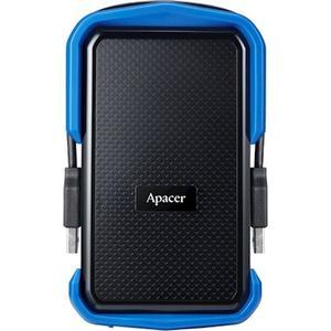 """Зовнішній жорсткий диск Apacer USB 3.1 Gen1 AC631 2TB 2 5"""" чорно-синій AP2TBAC631U-1"""