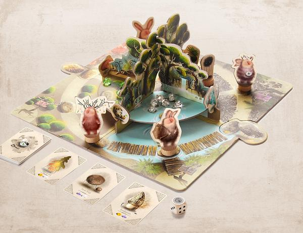 Marbushka Настольная игра Марбушка Волшебный мир Гю (Gus) (MG011), мініатюра №2