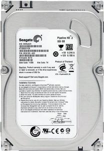 """Внутрішній жорсткий диск Seagate Pipeline HD 320ГБ 5900 обертів в хвилину 8МБ 3.5"""" SATA II ST3320311CS"""