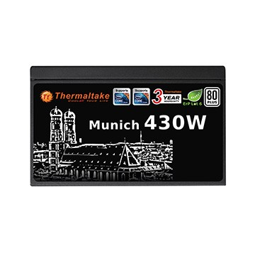 Блок питания для ПК Thermaltake munich 430 W W0391RE, мініатюра №4