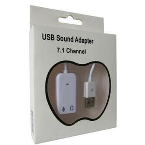 Звукова карта Dynamode C-Media USB 8 3D RTL  (USB-SOUND7-WHITE)