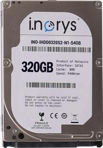 """Внутрішній жорсткий диск I.norys 2 5"""" 320GB 5400rpm 8MB INO-IHDD0320S2-N1-5408"""