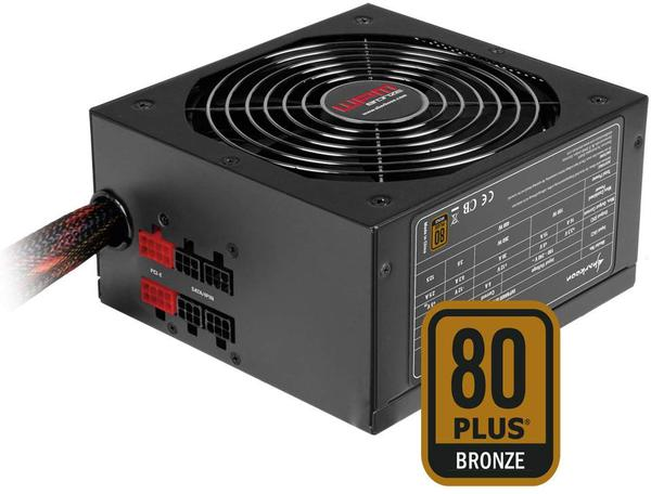 Блок живлення Sharkoon WPM 500 Bronze (4044951013647), мініатюра №1