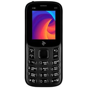 Кнопочный телефон 2E E180 2019  Black (680576170033)