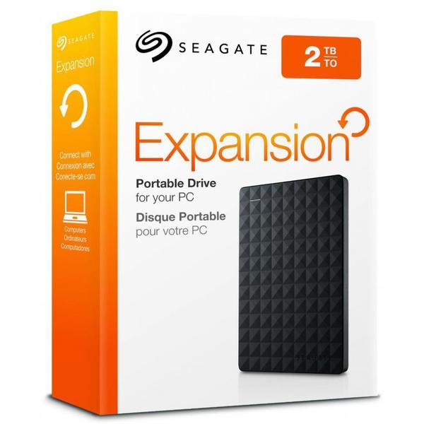 """Зовнішній жорсткий диск Seagate 2ТБ 2.5"""" USB 3.0 чорний STEA2000400, мініатюра №5"""