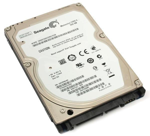 """Внутрішній жорсткий диск Seagate Momentus 500ГБ 5400 обертів в хвилину 8МБ 2.5"""" SATA II ST9500325AS, мініатюра №6"""