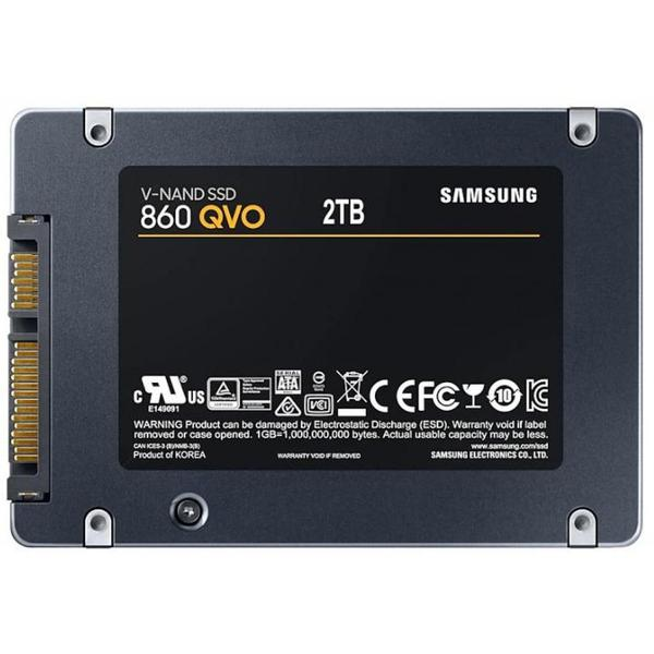 "Внутренний накопитель Samsung 2 ТБ 2.5"" SATA 6Gb V-NAND 4bit MLC MZ-76Q2T0BW, мініатюра №2"
