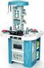 Интерактивная детская кухня со звуком голубая Tech Edition Smoby 311049, мініатюра №1