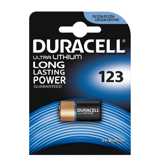 Батарейка Duracell DL 123