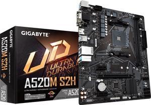 Материнська плата Gigabyte A520M S2H sAM4 AMD A520 PCI-Ex16
