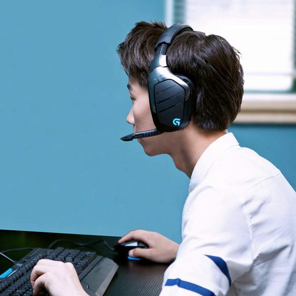 Навушники Logitech G933 Gaming Wireless (981-000599), мініатюра №9