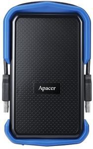 """Зовнішній жорсткий диск Apacer 2.5"""" USB 3.1 2TB AC631 IP55 black blue"""