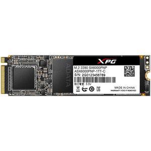 Внутренний накопитель A-Data 1 ТБ M.2 PCI-E 3.0 x4 3D TLC ASX6000PNP-1TT-C