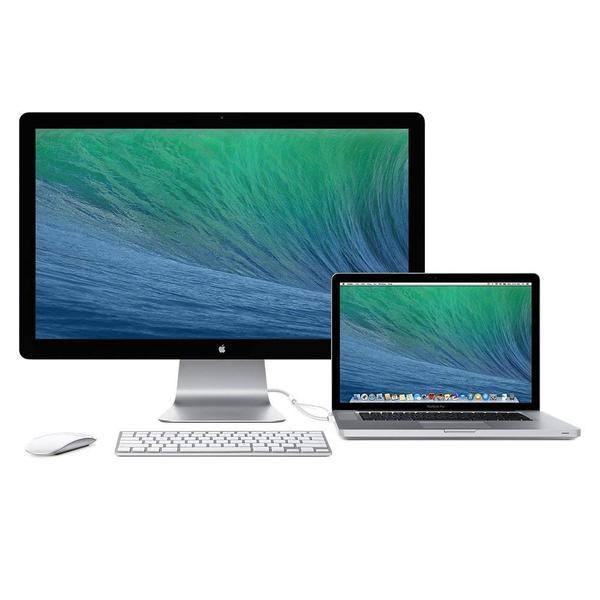 """Монітор Apple Thunderbolt A1407 LCD 27"""" QHD MC914ZE B, мініатюра №3"""