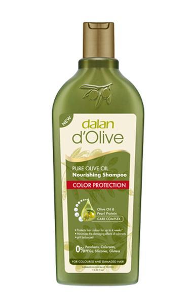 Шампунь для волосся Dalan D'Olive для окрашенных волос, мініатюра №1