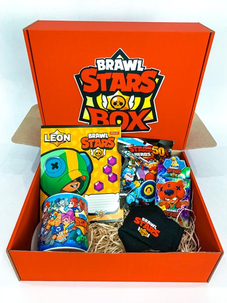 Brawl stars Подарочный Бокс Бравл Старс mini 1 девочке и мальчику, мініатюра №1