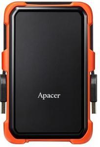 """Накопитель внешний HDD 2.5"""" USB 2.0TB Apacer AC630 Black/Orange (AP2TBAC630T-1)"""