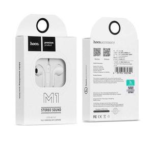 Наушники Hoco M1 Series Earphone White для телефона