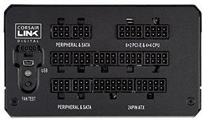 Блок живлення Corsair HX850i (CP-9020073-EU)