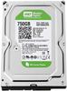 """Внутрішній жорсткий диск Western Digital Caviar green 750ГБ 5400 обертів в хвилину 64МБ 3.5"""" SATA III WD7500AZRX, мініатюра №1"""