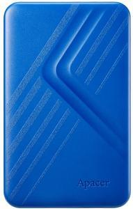"""Зовнішній жорсткий диск Apacer 2TB 2.5"""" USB 3.1 синій AP2TBAC236U-1"""