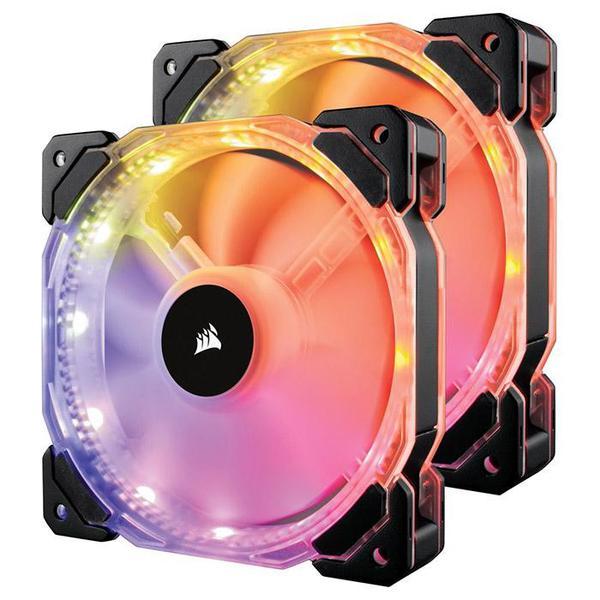 Система охолодження Corsair HD140 RGB Twin Pack (CO-9050069-WW), мініатюра №1