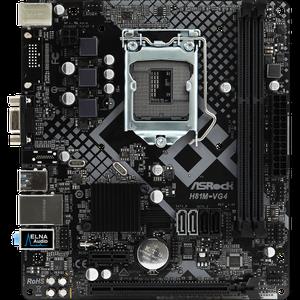 Материнская плата Asrock  H81M-VG4 R4.0 Socket 1150 + Процессор Intel Celeron G1820 (CM8064601483405+H81M-VG4 R4.0)