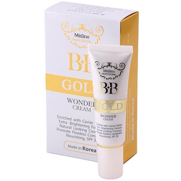 BB-крем Mistine профессиональный Gold Wonder с SPF-30 для сухой кожи 15 гр, мініатюра №1