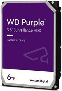 Внутрішній жорсткий диск Western Digital HDD SATA 6.0TB purple 5400rpm 128MB WD62PURZ