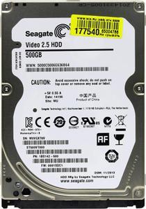 """Внутрішній жорсткий диск Seagate 500ГБ 5400 обертів в хвилину 16МБ 2.5"""" SATA II ST500VT000"""