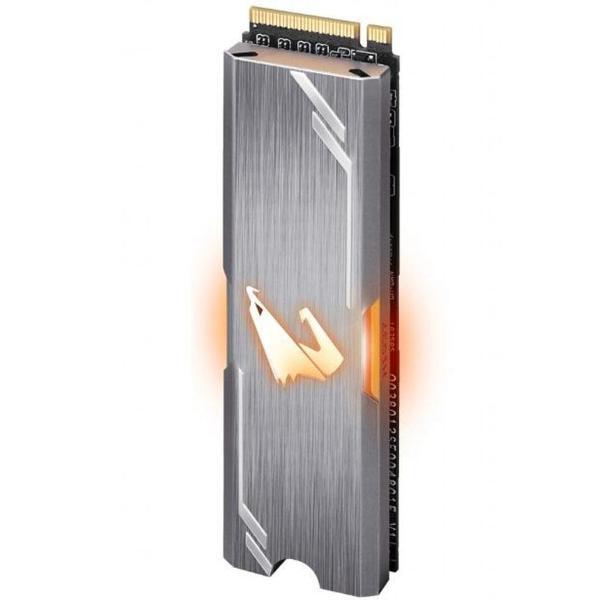 Внутренний накопитель Gigabyte 512 ГБ M.2 PCI-E 3.0 x4 3D TLC GP-ASM2NE2512GTTDR, мініатюра №3