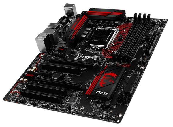 Материнська плата MSI  B150 Gaming M3 (B150 GAMING M3), мініатюра №3