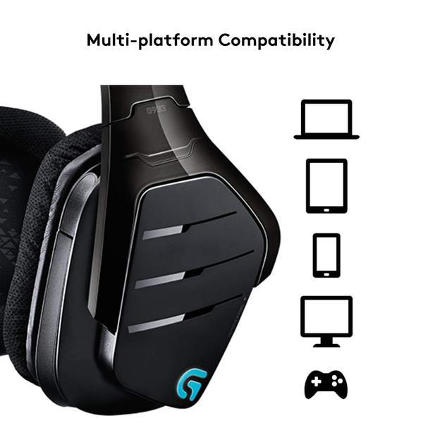 Навушники Logitech G933 Gaming Wireless (981-000599), мініатюра №12