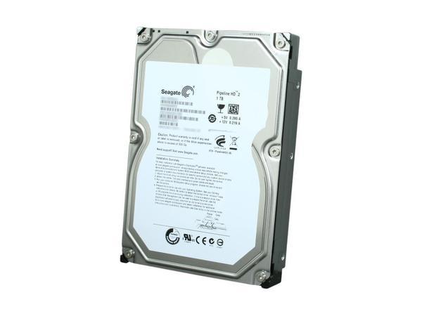 """Внутрішній жорсткий диск Seagate Pipeline HD 1ТБ 5900 обертів в хвилину 8МБ 3.5"""" SATA II ST31000322CS, мініатюра №3"""