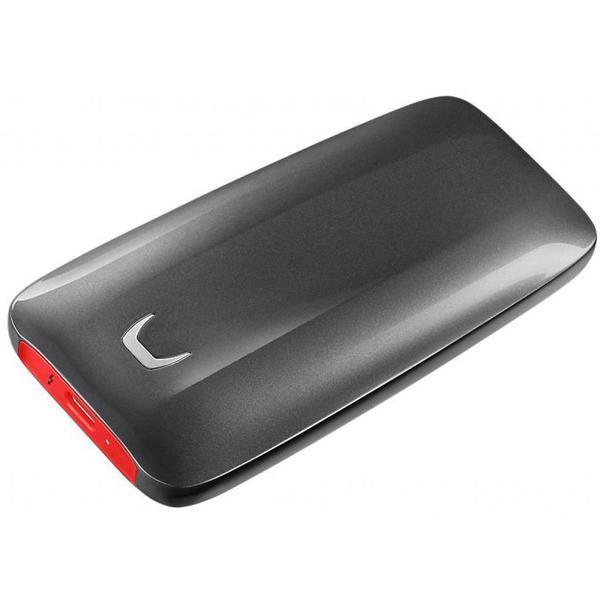 Зовнішній накопичувач Samsung 1 ТБ Thunderbolt 3 червоний чорний MU-PB1T0B WW, мініатюра №5