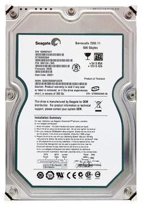 """Внутрішній жорсткий диск Seagate 500ГБ 7200 обертів в хвилину 8МБ 3.5"""" SATA II ST3500820AS"""