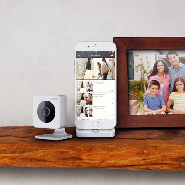 Камера відеоспостереження Y-cam Evo Indoor HD Wi-Fi (HMHDI07), мініатюра №14