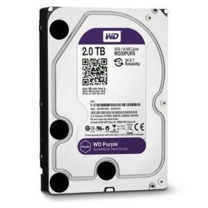 HDD 2TB WD 5400 SATA llI 64MB WD20PURZ Purple