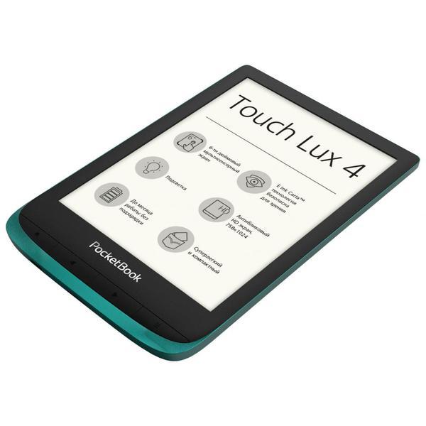 Електронна книга Pocketbook 627 Touch Lux4 Emerald (PB627-C-CIS), мініатюра №3