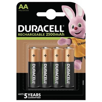Аккумулятор Duracell AA HR6 2500mAh 4 5000394057203 5007308 44642