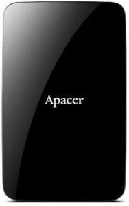 """Зовнішній жорсткий диск Apacer 2ТБ 2.5"""" USB 3.1 чорний AP2TBAC233B-1"""