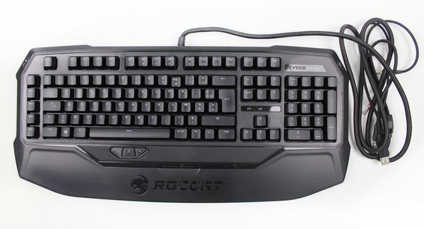 Клавіатура ROCCAT Ryos MK Pro Red Switch FR Black (ROC-12-853), мініатюра №1