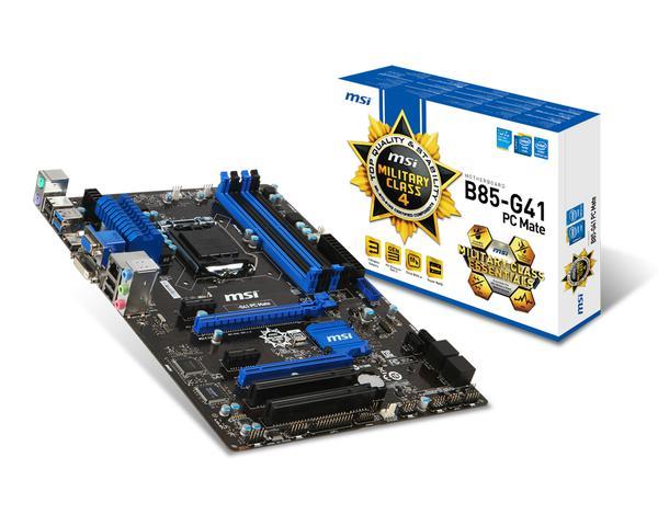 Материнська плата MSI  B85-G41 PC Mate (7850-003R), мініатюра №5