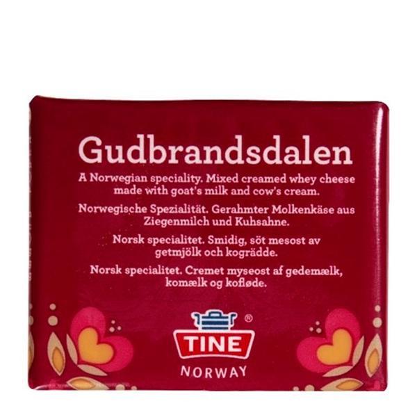 Сыр Брюност Гудбрандсдален Gudbrandsdalen TINE Norway 250 г, мініатюра №1