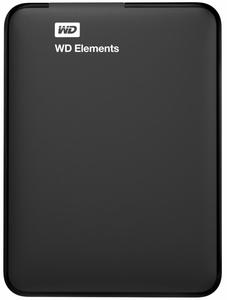 """Зовнішній жорсткий диск Western Digital 750ГБ 2.5"""" USB 3.0 чорний WDBUZG7500ABK-WESN"""