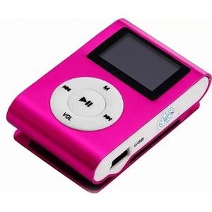 MP3-плеер TOTO With display&Earphone Mp3 Pink (TPS-02-Pink)
