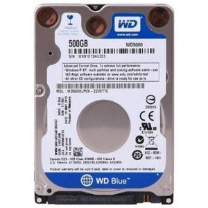 """Внутрішній жорсткий диск Western Digital 2.5"""" 500GB WD WD5000LPCX"""