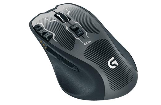 Мишка Logitech  G700s Rechargeable Gaming Mouse (910-003424), мініатюра №2