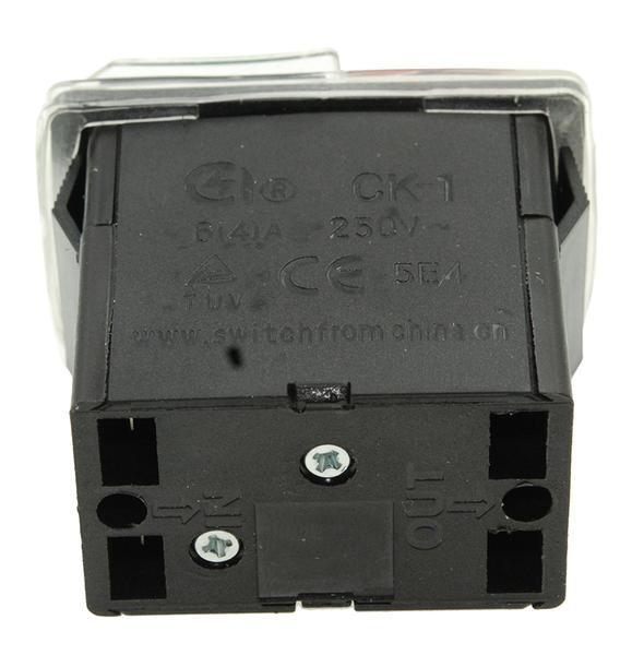 Кнопка VJ Parts бетономешалки 4 контакта 4A CK-1 арт кн1350, мініатюра №2