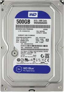 """Внутрішній жорсткий диск Western Digital blue 500ГБ 7200 обертів в хвилину 16МБ 3.5"""" SATA III WD5000AAKX"""